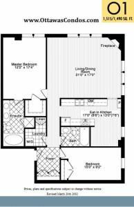 700 Sussex Drive - Typical Suite Floor Plan